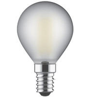 4w SES LED Frosted Golfball Warm White 470lms (Non Dimmable)