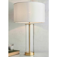 3168802 Brushed Brass & Glass Touch Table Lamp