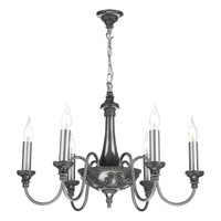 David Hunt BAI0667 Bailey 6 Light Pendant Pewter