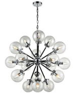 41236918 Mars 18lt pendant Chrome/Black