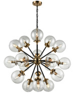 41237018 Mars 18lt pendant Antique Gold/Black