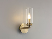 2LT91D Darla Wall light Antique Brass