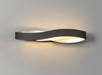 2002571 LED Wall Light Anthracite/Nickel