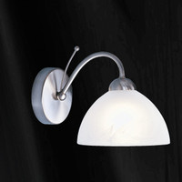 S9111311SS 1 Light Wall Light Satin Nickel