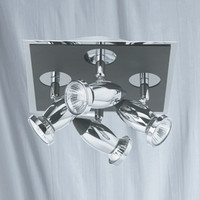 S917494 4 Light Spotlight Chrome