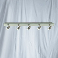 S9178455 Five Bar Spot Satin Silver