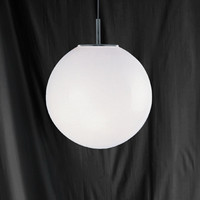 S916066 Globe Chrome Ceiling Pendant