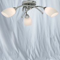 S9181833CC Opera 3 Light Chrome Ceiling Light