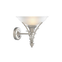 Searchlight 5227SS Linea Wall Light Satin Silver