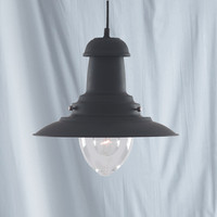 S914301BK Fisherman Lantern Black