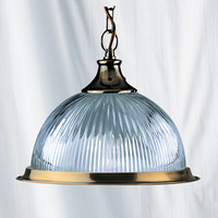 S919369 Diner Single Pendant Antique Brass
