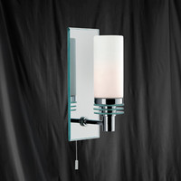 Searchlight 5611-1CC-LED IP44 Bathroom Wall Light