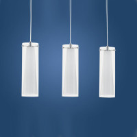 Eglo 89833 Pinto Triple Ceiling Pendant Chrome