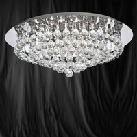 Searchlight 3408-8CC Hanna 8 Light Chrome & Crystal Ceiling Light