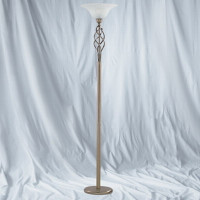 S916021AB Floor lamp Antique Brass