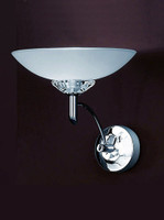 Franklite FL2006/1 Fizz 1 light Wall Light Chrome