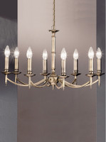 Franklite FL2091/8 Petrushka 8 light chandelier Bronze