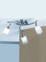 Franklite DP40023 Campani 3 light Satin Nickel Ceiling Light