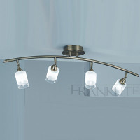 Franklite SPOT8774 Campani 4 light Bronze Ceiling Light