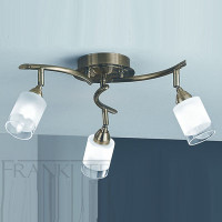 Franklite SPOT8773 Campani Bronze 3 light Ceiling Light