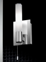 Franklite WB981 Wall light chrome switched