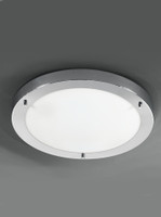 Franklite CF5682 Bathroom Ceiling Light Chrome