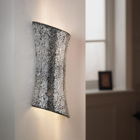 E31CHROME2WBCH Chrome Mosaic Wall Light
