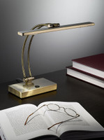 Franklite TL893 LED table lamp bronze