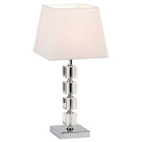 Endon 96940-TLCH 1 Light Chrome Table Lamp