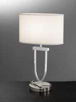 Franklite TL870 Polished Chrome Table Lamp