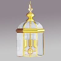Seachlight 5133PB Polished Brass Coach Lantern