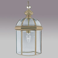 S917131AB Antique Brass Coach Lantern