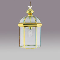 S915131PB 1 Light Polished Brass Coach Lantern
