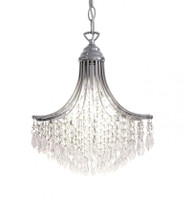 DRUS100150  Crystal Ceiling Pendant CHROME