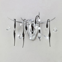 Diyas IL50420 Cygnet 3 Light Wall Light Polished Chrome