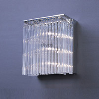 Diyas IL30011 Zanthe 2 Light Glass Wall Light