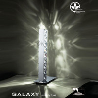 Diyas IL80040 Galaxy Led Chrome Table Lamp
