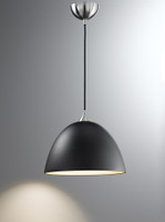 FLF4122901931 1 Light Black Glass Pendant