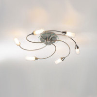 DGUT100646  6 light Ceiling light SATIN CHROME