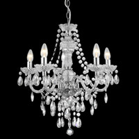Searchlight 8885-5CL Marie Therese 5 Light Chandelier
