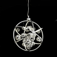 PD318 Led Chrome Pendant