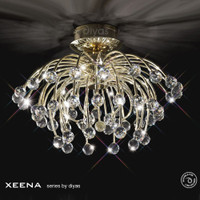 1530840 French Gold Ceiling Light