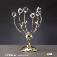 Diyas IL30842 Xeena French Gold Table Lamp