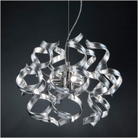 Metallux Astro 206.140.15 3 Light Silver Leaf Pendant