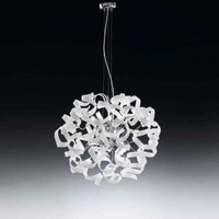Metallux Astro 206.150.02 6 Light White Glass Pendant