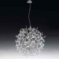 Metallux Astro 206.170.01 9 Light Crystal Glass Pendant
