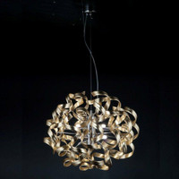 Metallux Astro 206.155.13 6 Light Gold Leaf Pendant