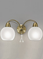 4122782 2 Light Bronze Wall Light