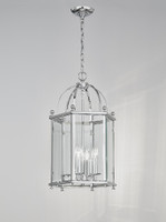 LA4170084 4 Light Polished Chrome Lantern