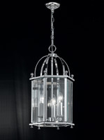 LA4170083 3 Light Polished Chrome Lantern